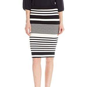 Trina Turk Adelisa Downtown Stripe Jersey Skirt